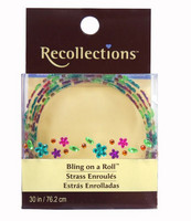 Recollections Bling on a Roll: Flower Mix Rhinestones