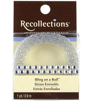 Recollections Bling on a Roll: Clear 4 mm Rhinestones