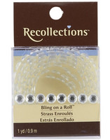 Recollections Bling on a Roll: Clear 6,5 mm Rhinestones