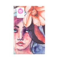 Jane Davenport Canvas Journal 6 x 9  - muistikirja / art journal