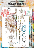 Aall & Create STENCIL  Rota Vitae #49 - sabluuna