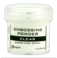 Ranger Embossing Powder: Clear Superfine Detail 34ml