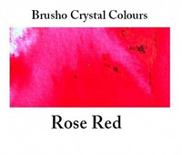 Brusho Crystal Colors -  Rose Red 15g