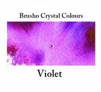 Brusho Crystal Colors -  Violet 15g