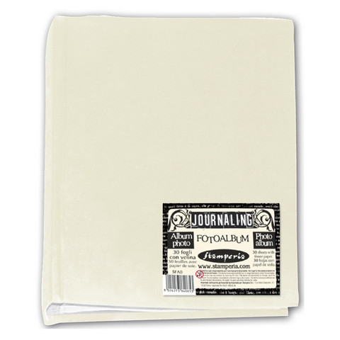 Stamperia Photo Album  20,5 x 24,5 cm Ivory