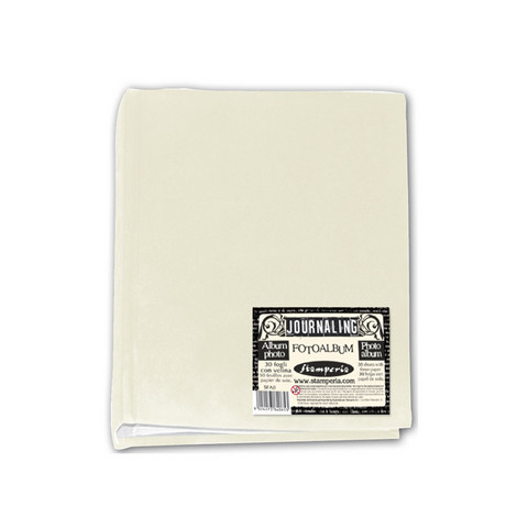 Stamperia Photo Album  16,3 x 22 cm Ivory