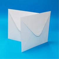 4x4 kirjekuoret 50 kpl valkoinen