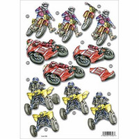 Stanssattu 3d-arkki: Racing Bikes