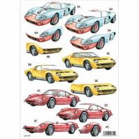 Stanssattu 3d-arkki: Sports Cars