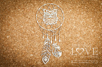 Indiana: Dreamcatcher Owl  -chipboardpakkaus