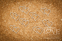 First Love: Hearts  -chipboardpakkaus