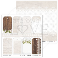First Love Tags 12 x 12  - paperiarkki