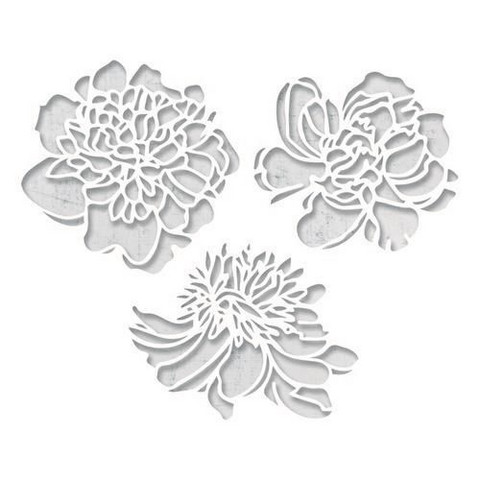 Sizzix Thinlits: Cutout Blossoms  -stanssisetti