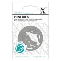 Xcut Zodiac Sign Mini Die:  Aquarius (Vesimies) - stanssi