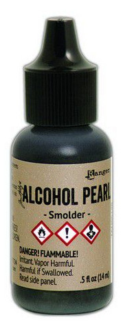 Alcohol Pearl Ink 15 ml : Smolder