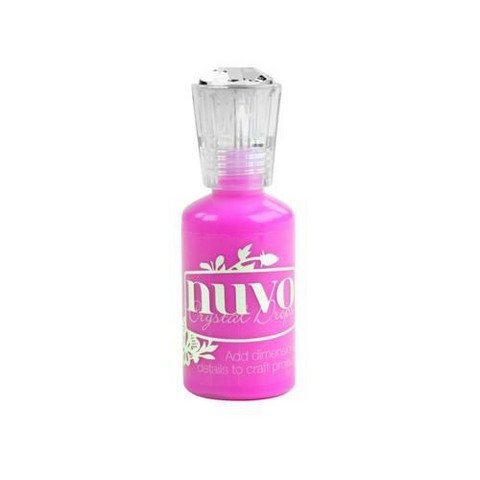 Nuvo Crystal Drops: Party Pink (Gloss)