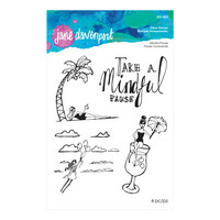 Jane Davenport Clear Stamps : Mindful Pause  - leimasinsetti