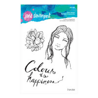 Jane Davenport Clear Stamps : Colour is Happiness  - leimasinsetti