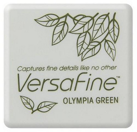 Versafine Mini: Olympia Green  -mustetyyny