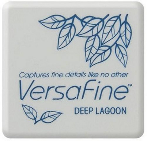 Versafine Mini: Deep Lagoon  -mustetyyny
