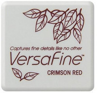 Versafine Mini: Crimson Red  -mustetyyny
