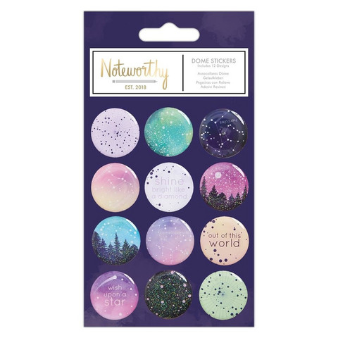 Noteworthy Constellations Dome Stickers -tarrapakkaus