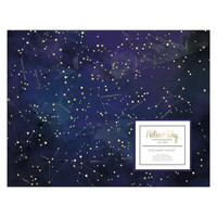 Noteworthy Constellations A4 Document Wallet  - säilytystasku