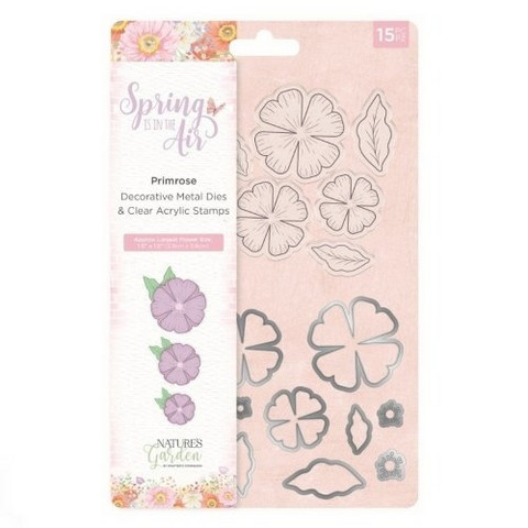 Spring is in the Air Stamps & Dies :  Primrose
