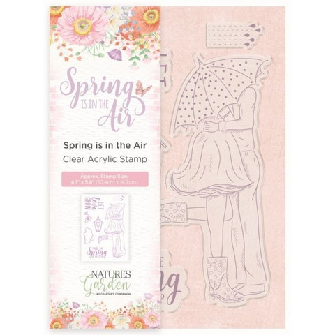 Spring is in the Air Clear Stamp Set