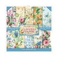 Flowers For You 8x8 - paperikokoelma
