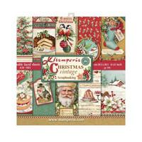 Christmas Vintage 8x8 - paperikokoelma
