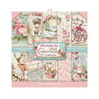 Pink Christmas 8x8 - paperikokoelma