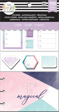 MAMBI The Happy Planner Multi Accessory Pack : Student  - Magical