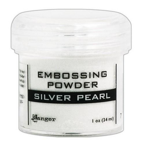 Ranger Embossing Powder: Silver Pearl 34ml