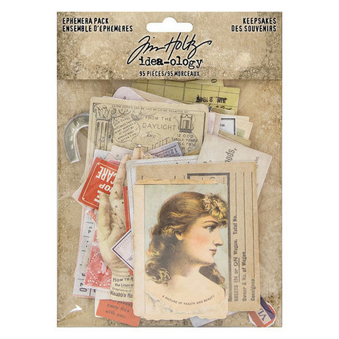 Tim Holtz Idea-ology Ephemera: Keepsakes - leikekuvat