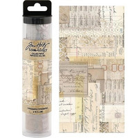 Tim Holtz Collage Paper : Typography