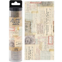 Tim Holtz Collage Paper : Document