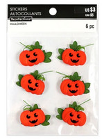 Halloween Sticker Embellishments: Pumpkins