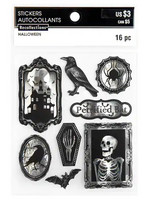 Halloween Foiled Stickers: Halloween Icons