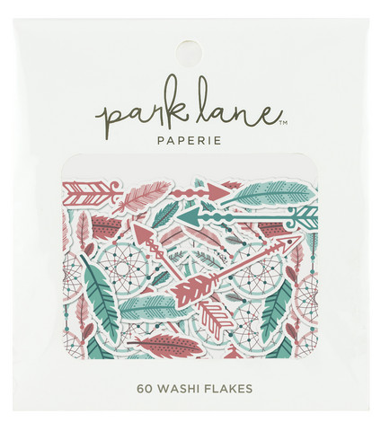 Park Lane Paperie Washi Flakes Stickers: Boho