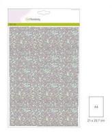 Glitter Paper A4: Baby Blue- glitterpaperipakkaus