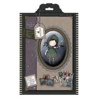 Gorjuss A4 Decoupage Pack - Nightlight