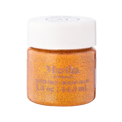 Martha Stewart Glitter Paste 44 ml :  Fire Opal