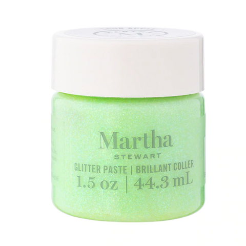 Martha Stewart Glitter Paste 44 ml :  Sour Apple