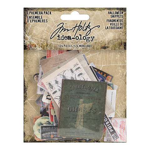 Tim Holtz Idea-ology: Ephemera Pack Halloween Snippets