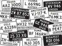 Coosa Crafts: License Plates - kohokuviointikansio