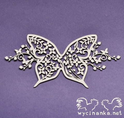 Summer Wedding:  Butterfly Ornament  - leikekuviopakkaus