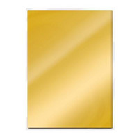 Craft Perfect: Gold Pearl Satin Effect A4 - peilikartonkipakkaus
