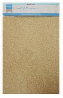Glitter Paper A4 : Gold