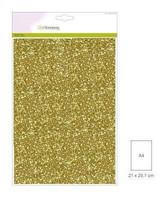 Glitter Paper A4: Gold - glitterpaperipakkaus